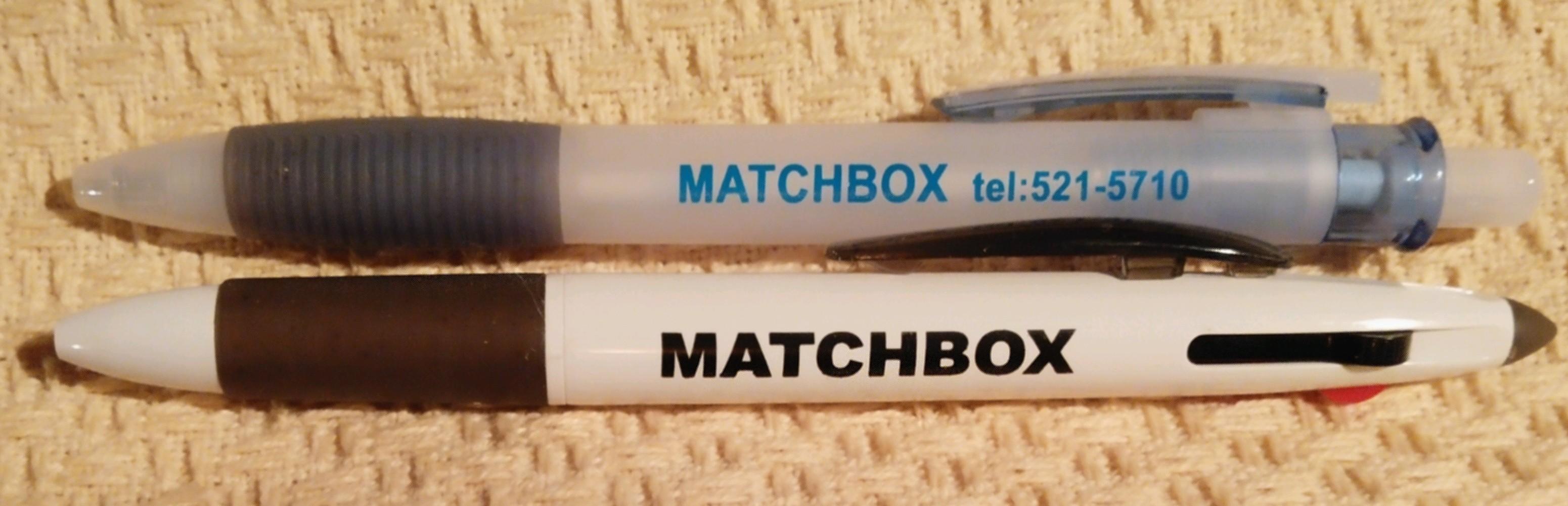 MATCHBOX オリジナル ボールペン